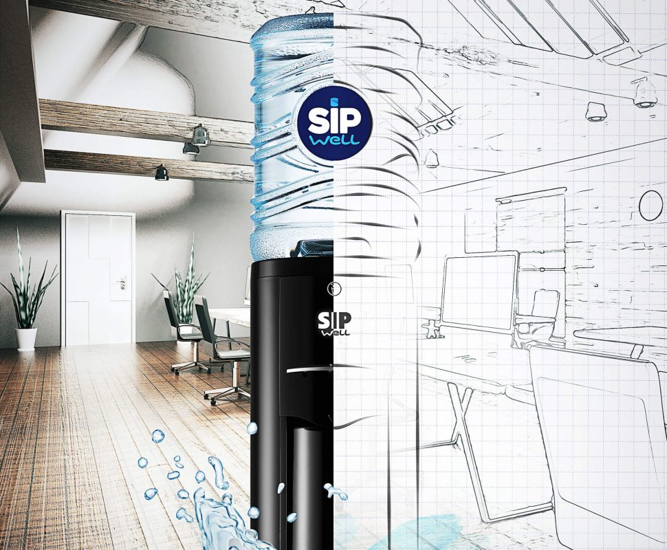 Water coolers from SipWell have a beautiful design