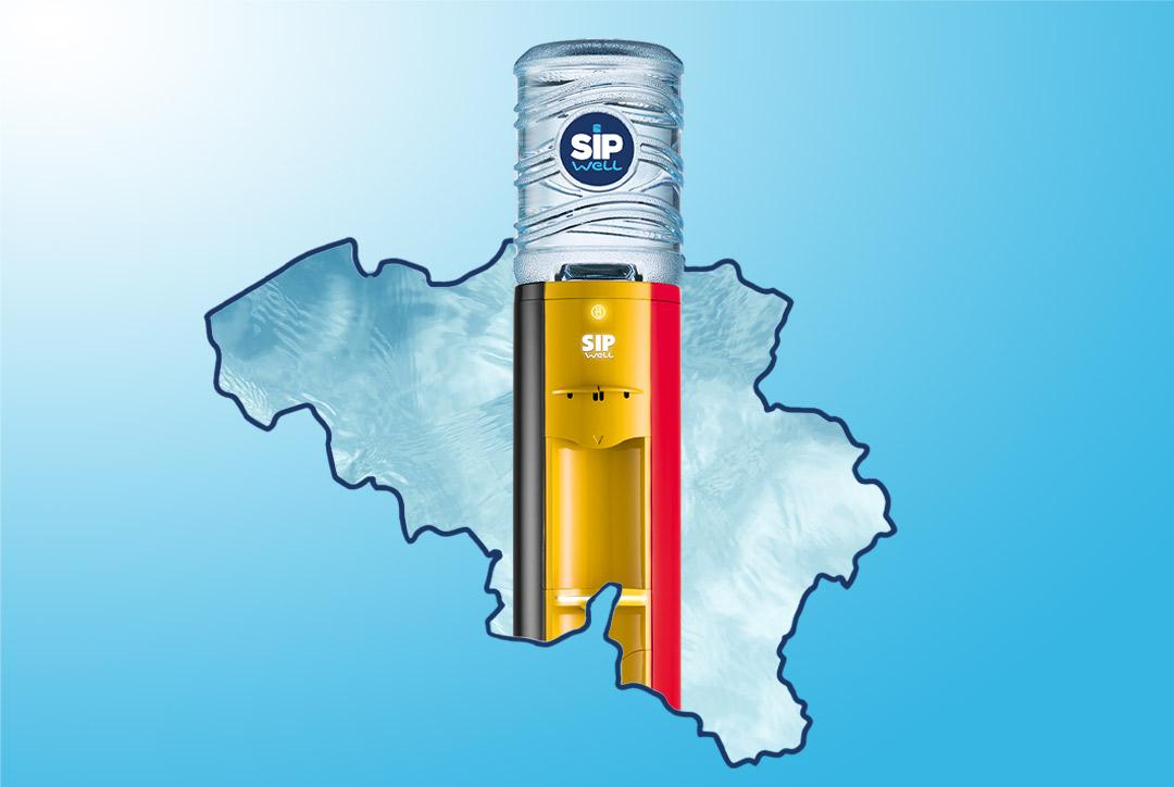 Waterkoelers SipWell Belgische onderneming