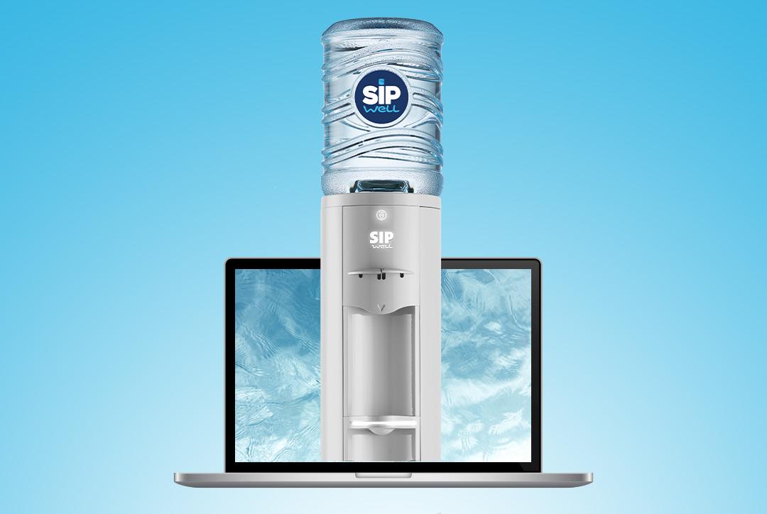 Waterkoelers SipWell digitale service