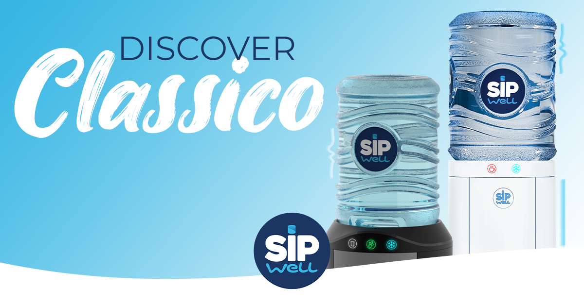 New at SipWell: The Classico water cooler
