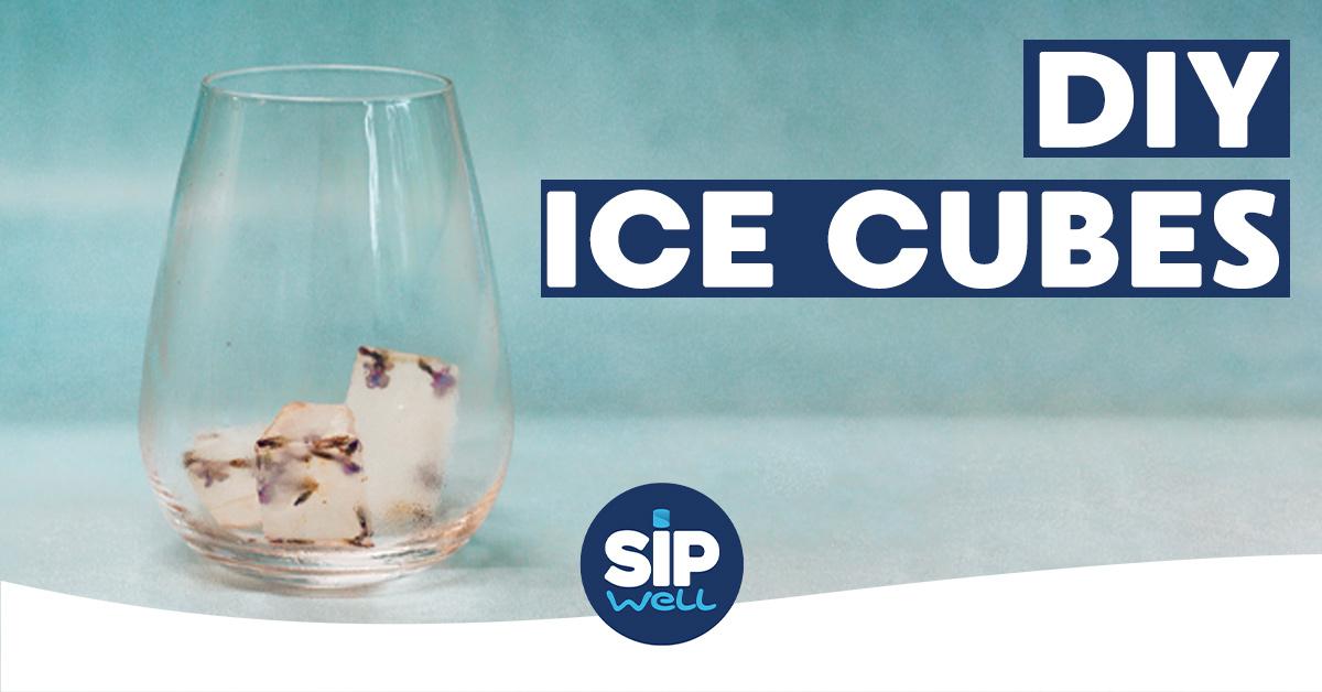SipWell Recept: mooie ijsblokjes