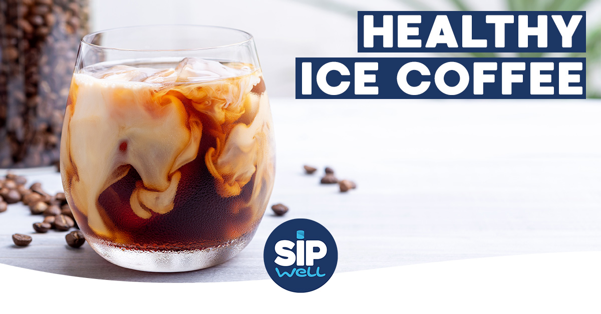 SipWell Recipe: Healthy iced coffee with Belmio