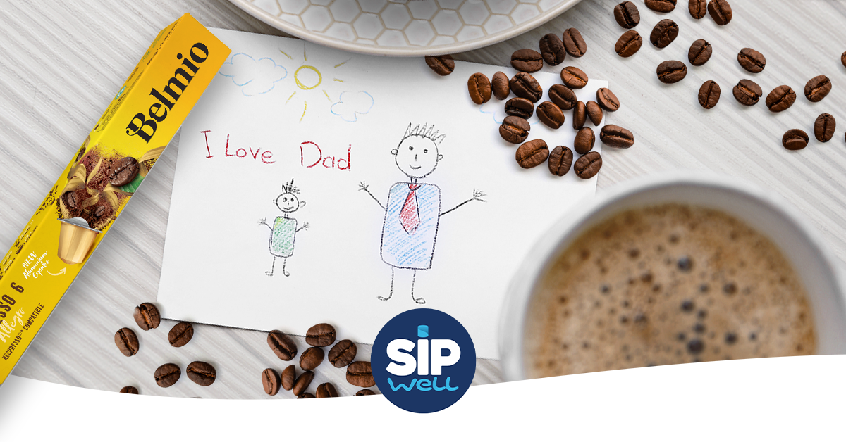 Experience an extraordinary coffee moment during Father's Day!