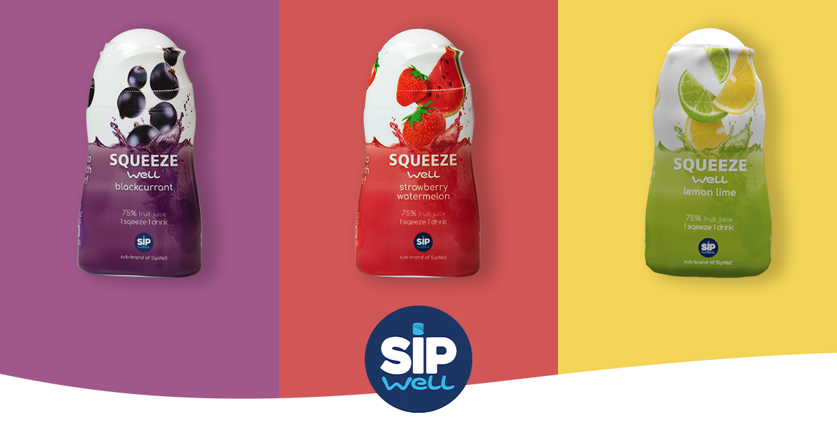 SqueezeWell: Refreshing flavors for your water - without added sugars!