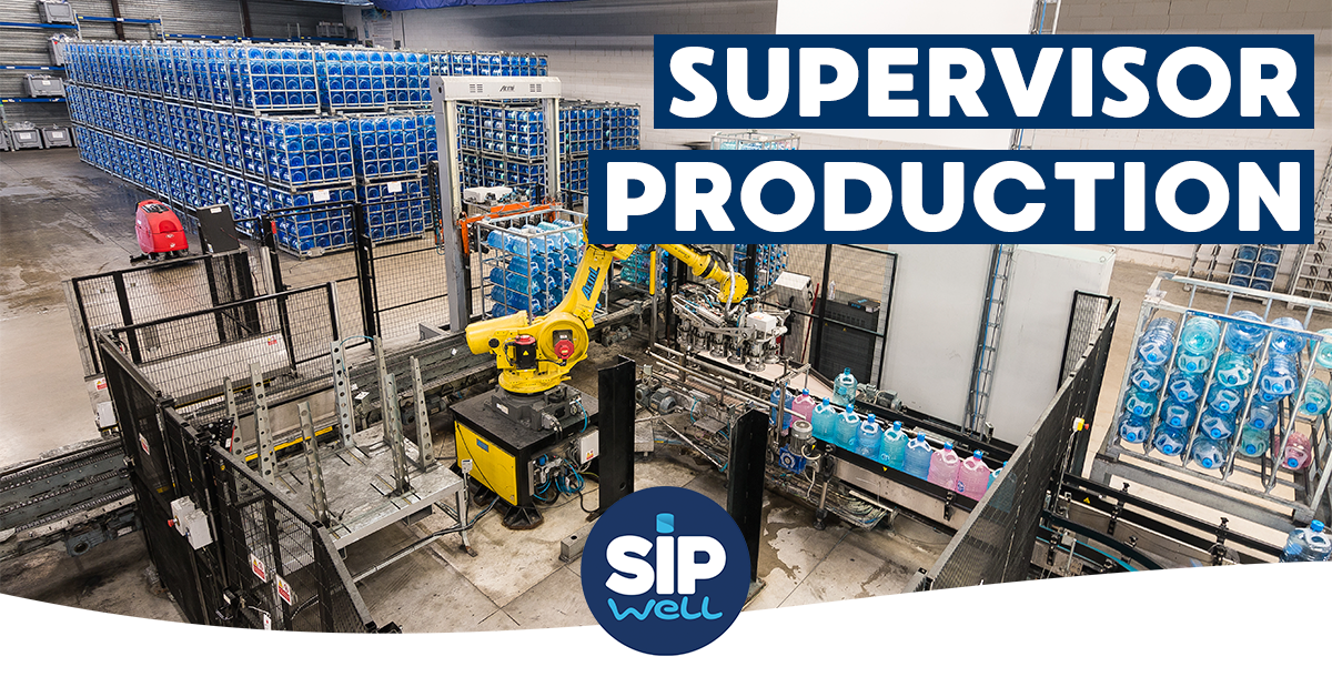 Vacature Supervisor Production (m/v)