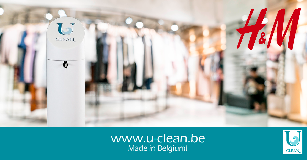 UCLEAN x H&M: working together to create a safe shopping experience