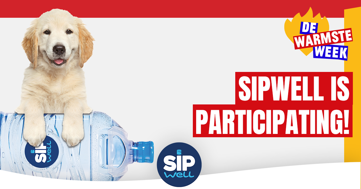 Sipwell contributes its bottle caps to 'DE WARMSTE WEEK'