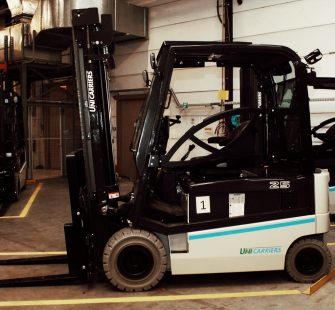 Inauguration of our new forklifts
