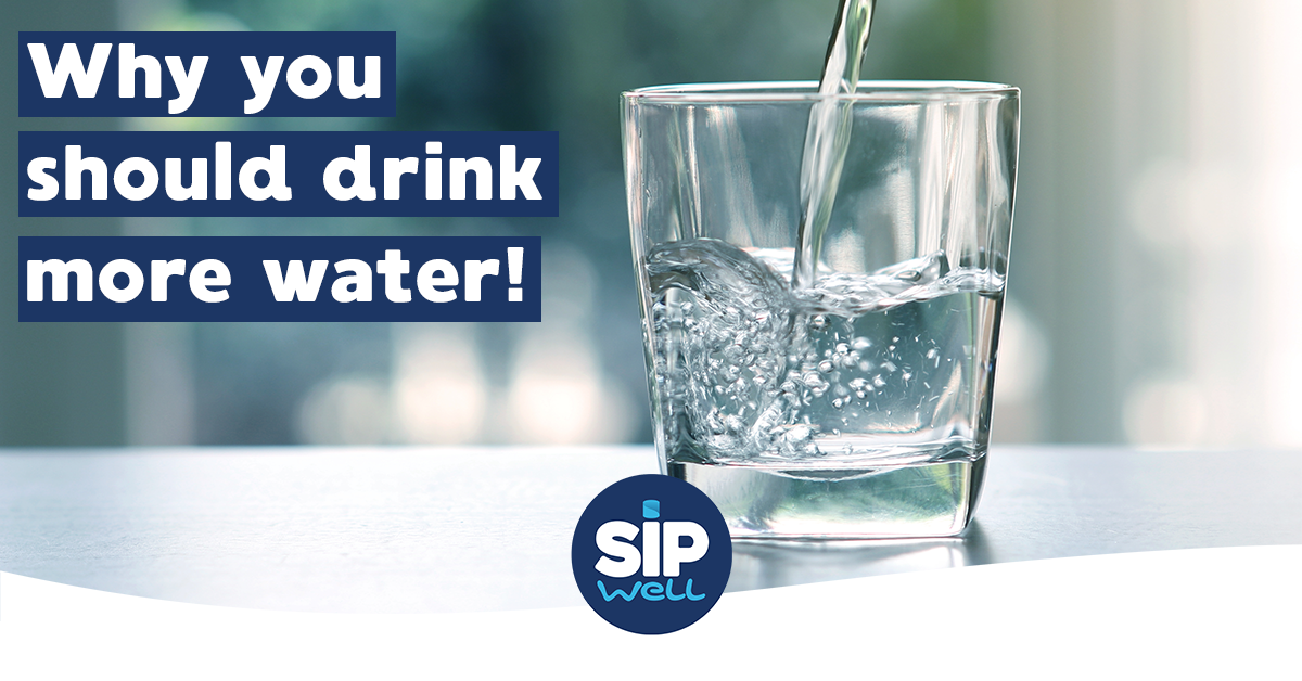 Why drinking enough water is important