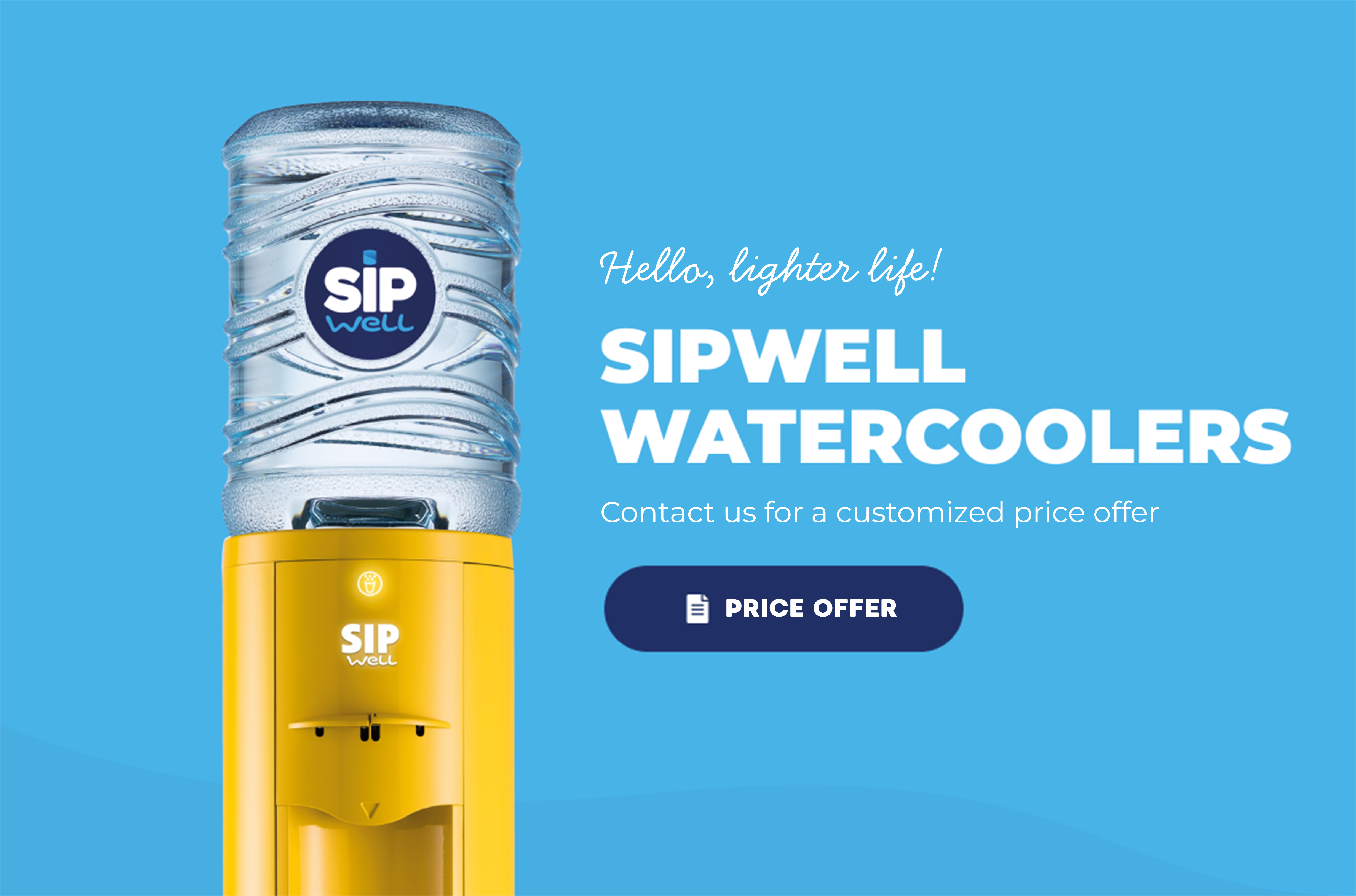 SipWell water coolers
